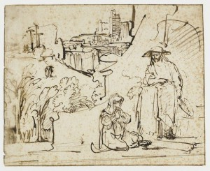 rembrandt (bols) christ as gardener