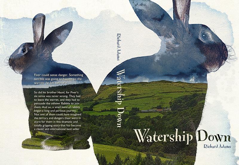 Creative Beast Book Cover Design: Watership Down